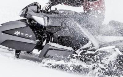 Le Wazuma R1 modulable en Moto-neige !
