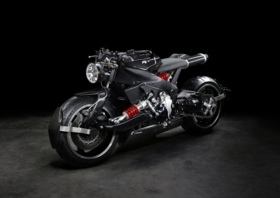 Lazareth - Caferacer - Yamaha R1 - Back to the future (0)