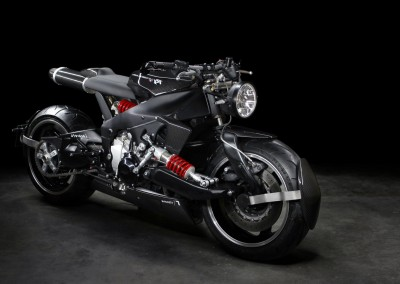Caferacer Lazareth – Yamaha R1 – Back to the future