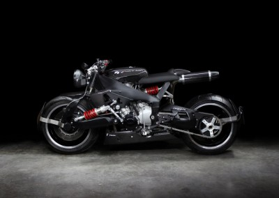 Lazareth - Caferacer - Yamaha R1 - Back to the future (1)