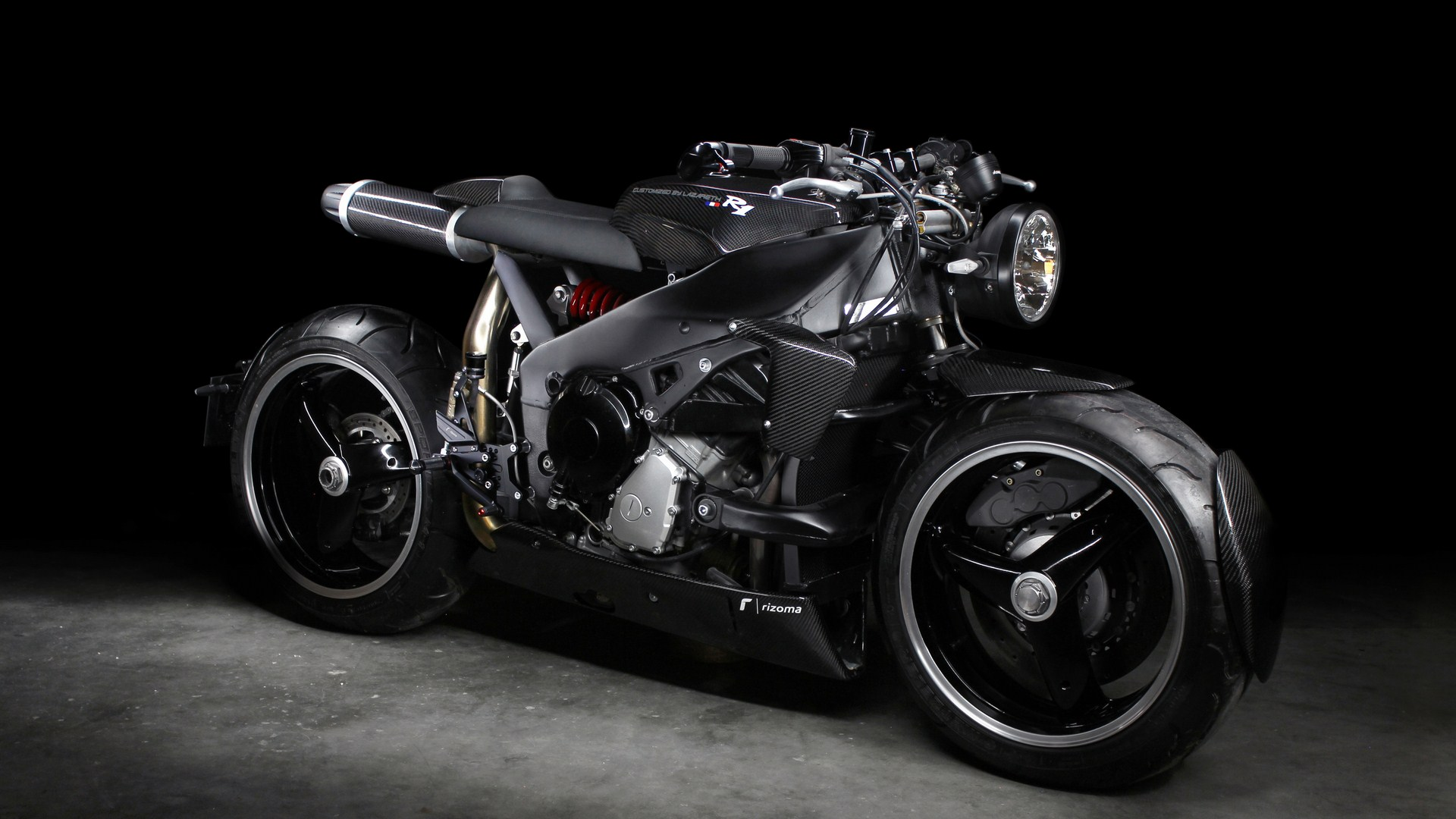 Lazareth - Caferacer - Yamaha R1 - Back to the future (6) (Copier)