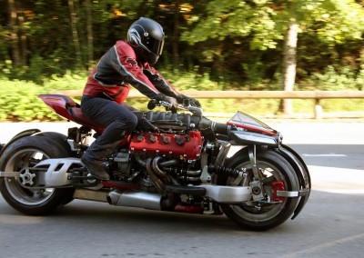 LM 847 – Lazareth V8 4700cc –    3 built from the limited edition of 10 bikes